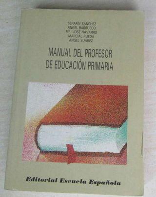 MANUAL DEL PROFESOR DE ESCUELA PRIMARIA - Miles de libros al mejor precio - Consulta