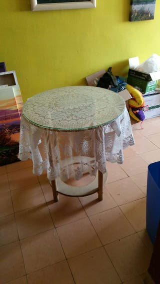 Mesa camilla con braserp