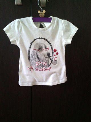 Blusa camiseta niña 12-18m