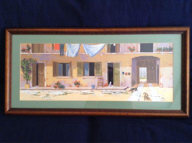 Cuadro con marco y cristal 83x40 (con marco) de L. Bartolini de ...