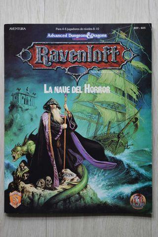 LA NAVE DEL HORROR. Módulo oficial para Ravenloft. Del AD&D 2° Edición.