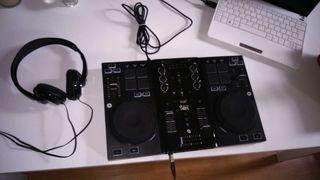 Tabla de mezclas Hércules djcontrol AIR