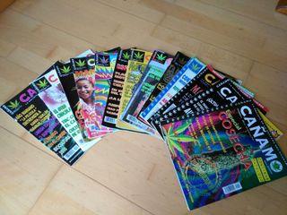 Revista cañamo, 13 numeros antiguos