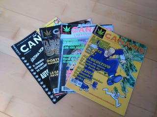 Revista cañamo, nuneros antiguos