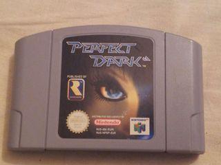 Juego Perfect Dark Nintendo 64