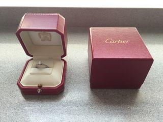 Cartier Original. Anillo Solitario 1895