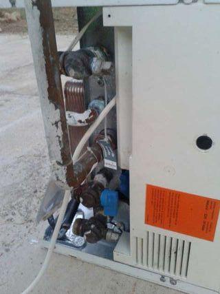 Caldera de gas natural