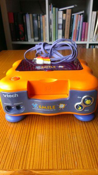 Consola infantil V Tech Smile con mando y juegos