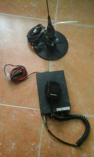 Emisora y antena