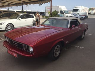 Ford mustang cabrio 1973