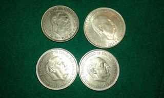 Lote monedas pesetas