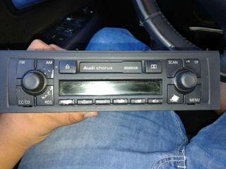 Radio cd original de audi a4 b6