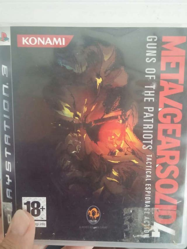 Metal Gear Solid 4 para PS3