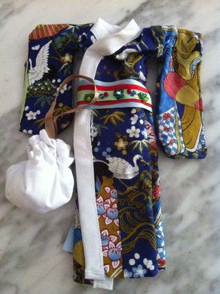 Kimono Para Muñeca Tipo PULLIP