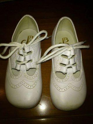 Zapato niños piel 25