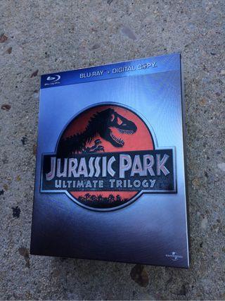 Jurassic Park Ultimate Trilogy en Blu-ray