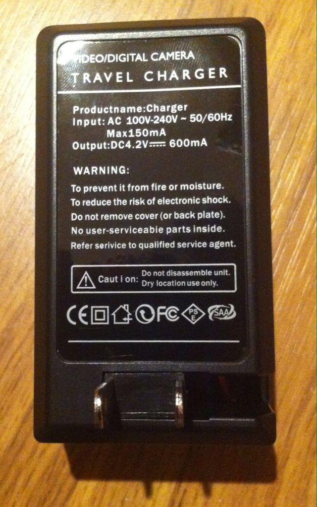 Cargador Doble Bateria SJ4000 - GoPro.