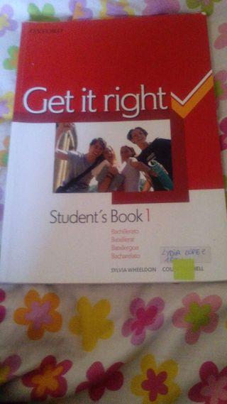 Libro 1bachiller inglés student book Oxford