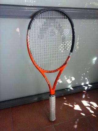 Raqueta de tenis Head nano
