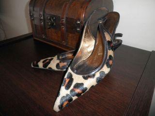 Zapatos de pelo talla 38