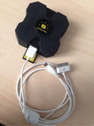 Cargador Autinomo para Moviles y Tablets