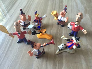 Muñecos pvc Barça