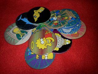 12 Tazos de los Simpson