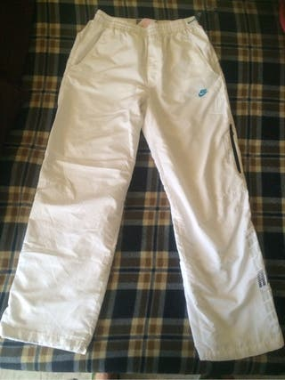 Pantalón Chandal Original Nike blancos