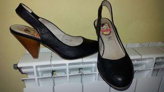 Zapato mujer piel núm. 37