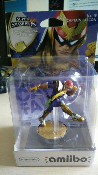 Amiibo - Captain Falcon No. 18