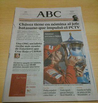 Periódico Fernando Alonso