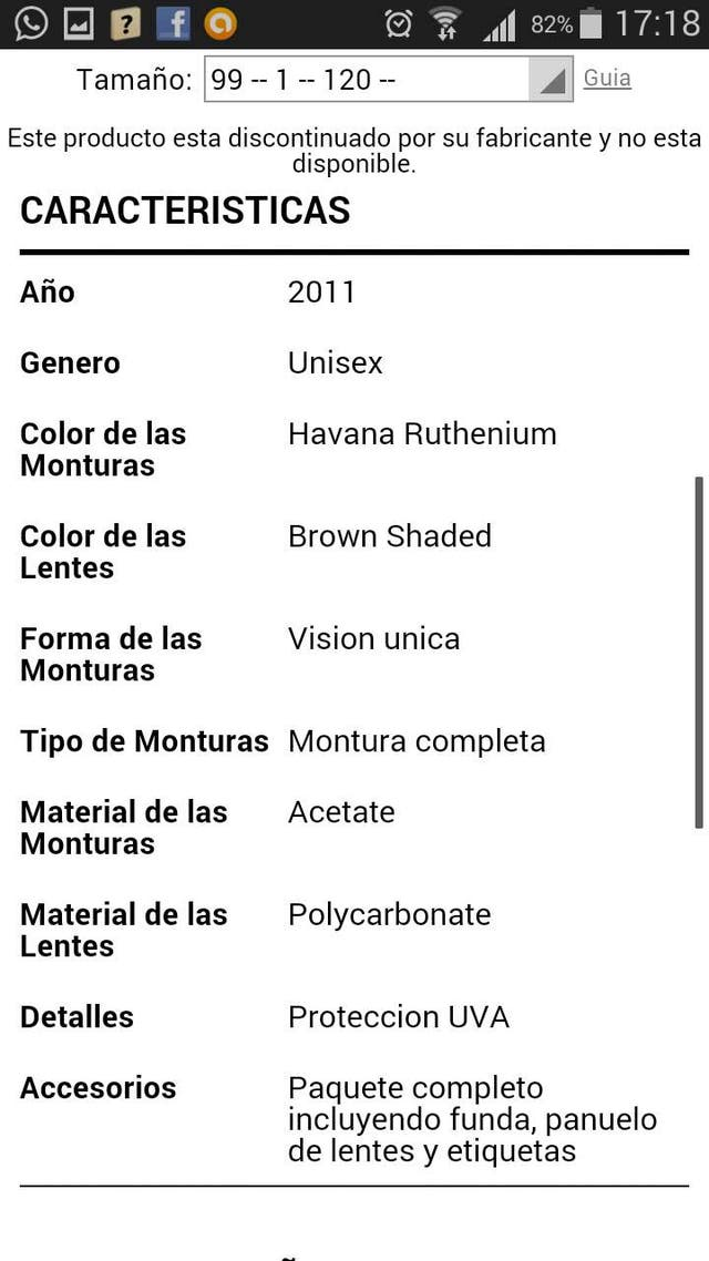 Gafas Carrera Thor SKF/IF Havanna Ruthenium de segunda mano por 24 ...