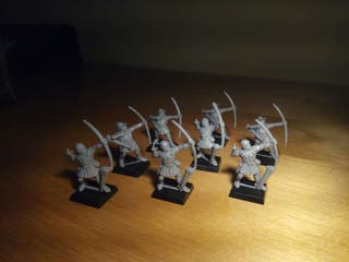 Warhammer. Arqueros bretonianos.