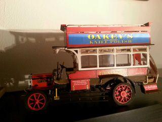 Maqueta autobus Londres