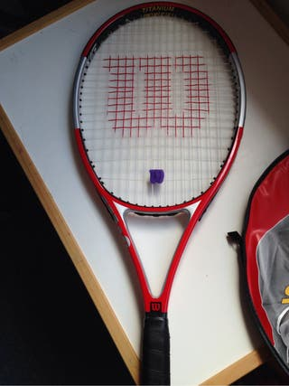 Wilson Six-One Comp 98 Titanium Tennis Racket