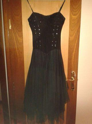 Vestido gótico negro M/L