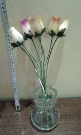 Flores con jarroncito
