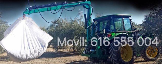 Pluma Agricola Tractor Giratoria Homologada