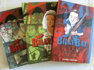 Manga Billy Bat 1, 2, y 5