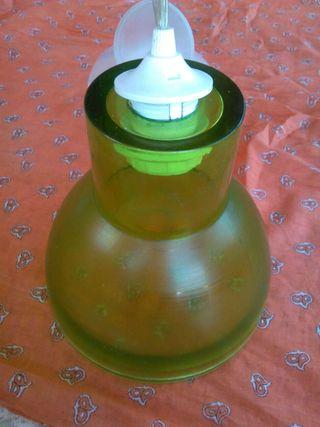 CHOLLO LAMPARA CRISTAL DE DISEÑO