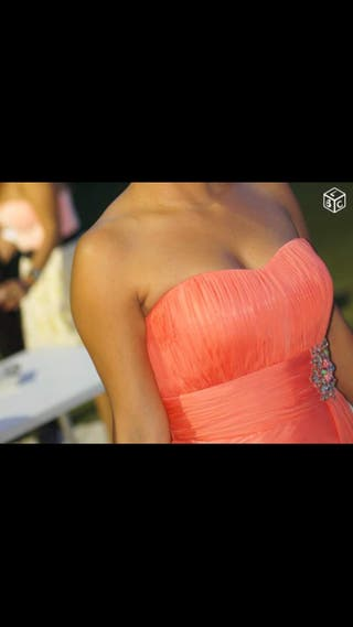 Robe Longue Corail Marque Fashion New York