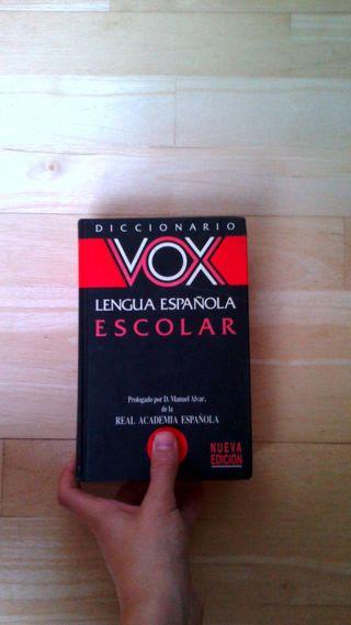 Diccionarios lengua española