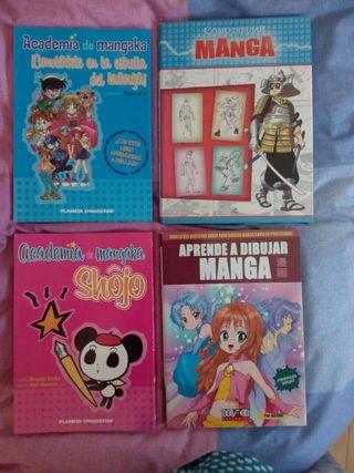 Libros Aprender a dibujar manga