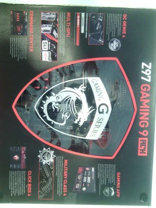 Placa base MSI Z97 Gaming 9 ACK