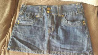 #ASAP Bench denim skirt
