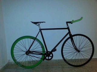 Fixie bicicleta