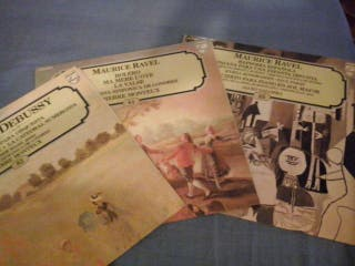 54 L.P. de vinilo música clásica grandes composito