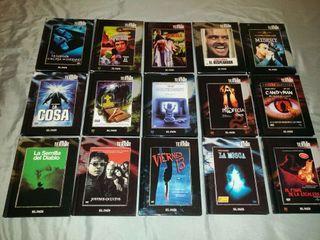 Colleccion terror libro-dvd el pais