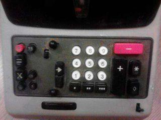 Calculadora antigua multisuma Olivetti 24