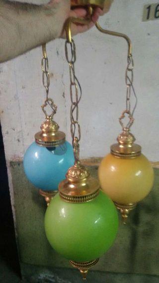 lampara de globos